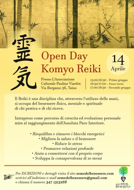 Openday Reiki